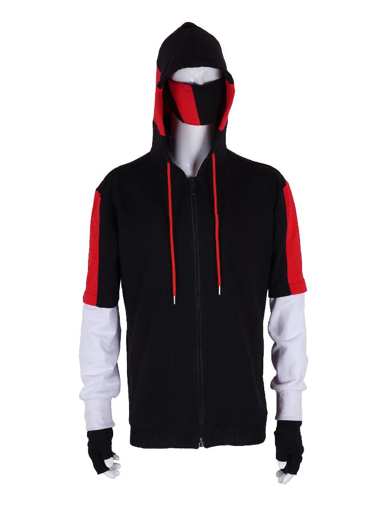 Fortnite Ikonik Adult Hooded Long-sleeved Sweater Suit Cosplay Costume