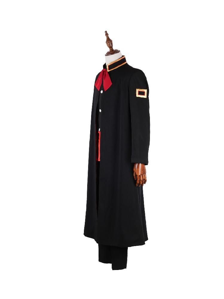 Bound Young Hanako Jun Teak School Cloak Uniform Cosplay Costume Suit