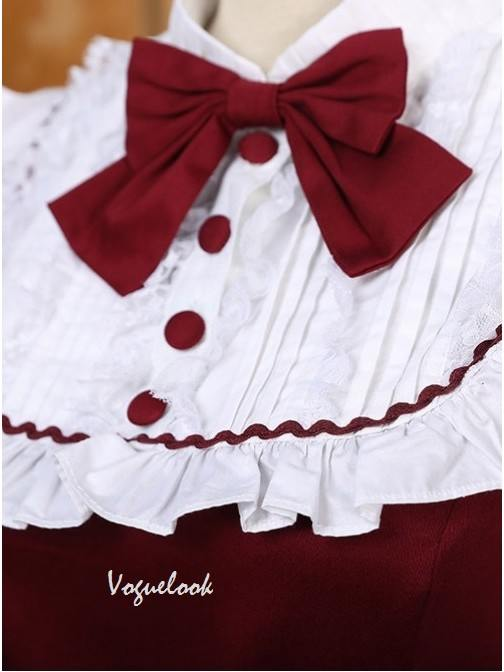 Palace lolita princess dress retro lace Sweet Lolita Long Sleeve Dress