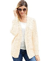 Winter Sweater Chunky Wide Long Sleeve Knit Cardigan