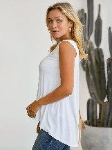 Cool Summer Women Sleeveless Relaxed Tank Top