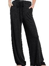 Wide Leg Drawstring Lounge Pants