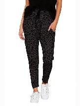Summer Loose Skinny Leopard Print Ancle-length Pants