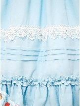 Profiteroles Series Doll Collar Chest Button Lace Folds Short Sleeve Sweet Lolita Dress