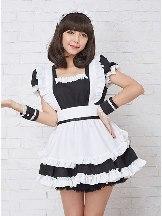 Coffee House Maid restaurant uniform cosplay princess dress maid costume