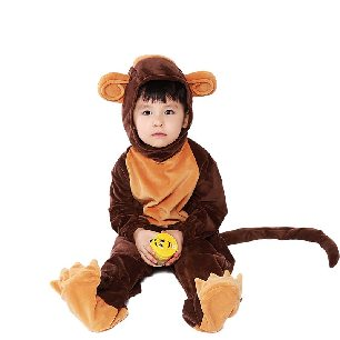 Monkey cosplay costume parent-child Halloween costume