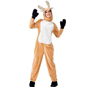 Christmas Elk Costume Transformation Parent-child Fawn Christmas Costume