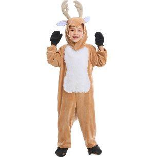 animal cosplay children show elk christmas reindeer Halloween Costume