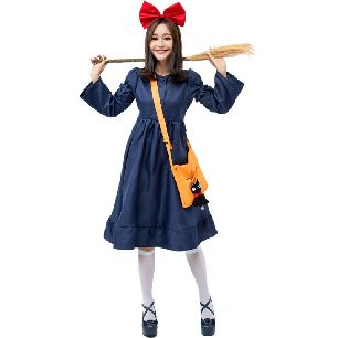 Japanese Witch Kiki Costume Little Witch Parent-child Costume