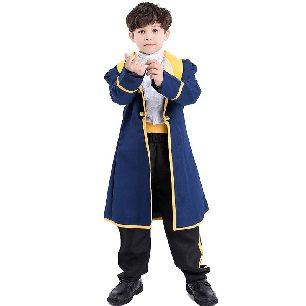 Kids prince king costume boy Halloween anime cosplay costume