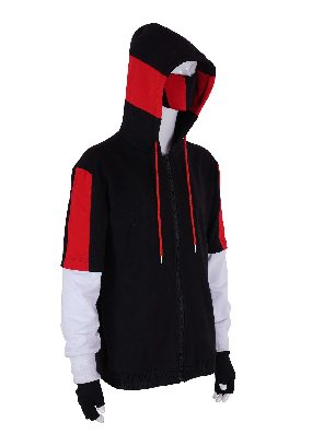 Fortnite Ikonik Adult Hooded Long-sleeved Sweater Suit Cosplay Costume