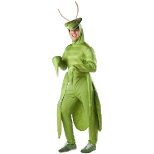 park work uniform male Mantis Ant-Man stretch parent-child Halloween costume