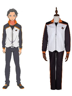 Zero-based Life in Another World Nayuki Subaru Cosplay Costume