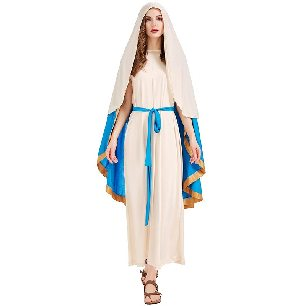 Israeli costume Virgin Mary adult role-playing Halloween costume