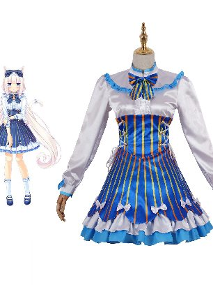 Love Adventure Game Neko's Paradise Girl Vanilla Cosplay Costume