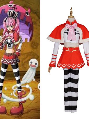 One Piece Princess Mononoke Perona Halloween Cosplay Costume Set