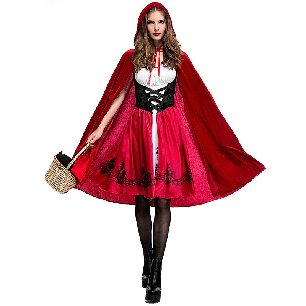 Little Red Riding Hood Costume Adult Clothing Halloween Costume