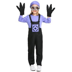 kids evil poisoning cartoon parent-child halloween costume