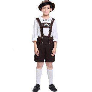 Children Oktoberfest Boy Costume Halloween Alps civilian clothing Halloween Costume