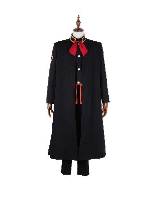 Bound Young Hanako Jun Teak School Cloak Uniform Cosplay Costume Suit
