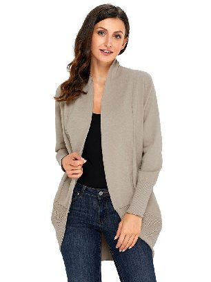 Supply Sweater Long Sleeve Super Soft Open Cardigan