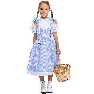 children girl costumes Dorothy dress Halloween costume