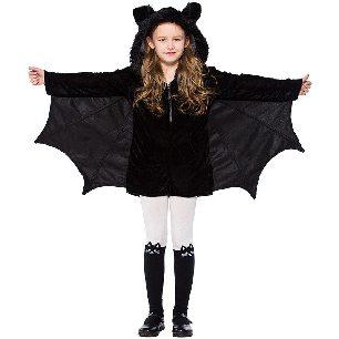 Halloween children clothing girls bat costume Halloween cosplay costume