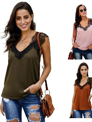Supply Sling One More Night Casual Lace Cami Tank