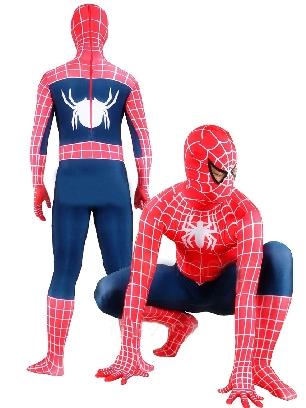 Lycra Spandex Morph Zentai Unisex Spiderman Zentai Costume
