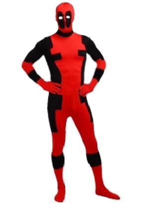 Dealpool Spandex Deadpool Costume Fullbody Suit