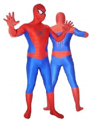 Lycra Spandex Morph Zentai Unisex Spiderman Zentai Suit