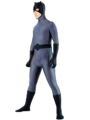 Lycra Spandex Morph Zentai Cat man Unisex Suit