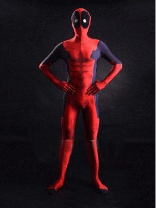 3D Printing Spandex Dealpool Costume Halloween Costume