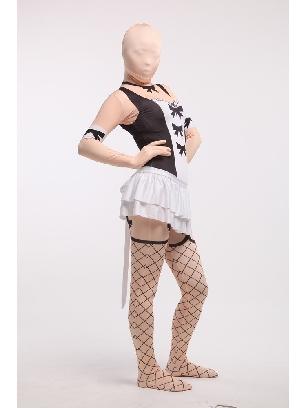 Sexy Halloween Cosplay Full Body Morph Costume Spandex Holiday Unisex Lycra Morph Zentai Suit