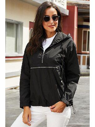 Casual Hooded Windbreak Jacket