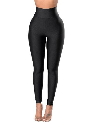 Supply Women High-waisted Tight Leggings with Waist Cincher