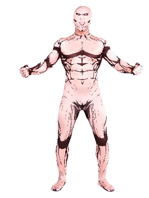 Attack on Titan Full Body Morph Costume Halloween Spandex Holiday Unisex Cosplay Zentai Suit