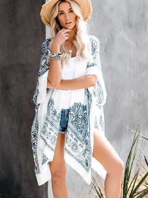 Supply Fashion Mandala Lace Kimono