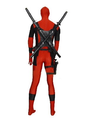 Zentai Accessories Black Deadpool Sword Holder For Deadpool Cosplayer
