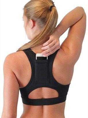 Black Yoga Vest Easy-to-wear Sports Underwear Back Pocket Sport Bra
