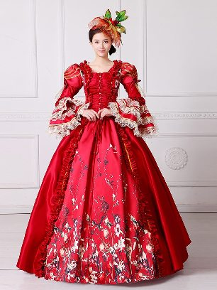 palace dress New Style stage costume evening party banquet makeup dress