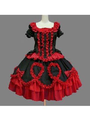 Lolita Gothic lotus leaf one-piece princess Sweet Lolita Dresses
