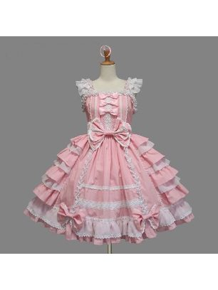 Lolita Gothic Sling Slim Skirt Sweet Lolita Dresses