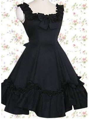 Gothic Lolita Sling Princess Super Thin Evening Dress Classic Lolita Dresses