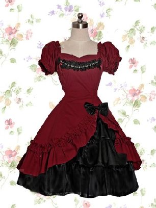 Lolita short-sleeved one-piece palace Classic Lolita Dress with panties