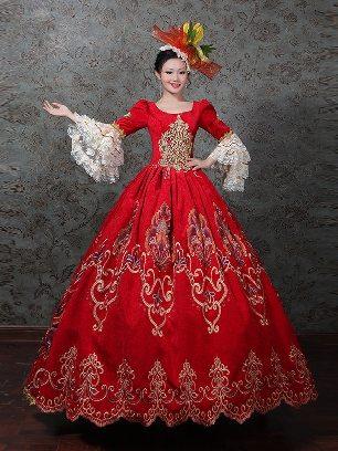 European style palace dress Women royal princess stage evening Prom Dress