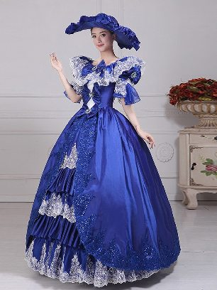 palace evening dress performance costume stage costume classical dress