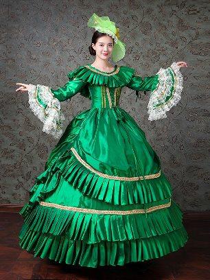 Elegant palace evening party princess dress Trumpet Sleeve Prom Dress