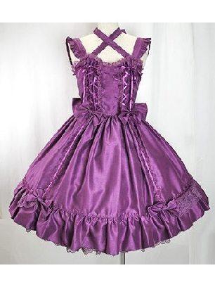 Lolita Victorian lace bow tie Sweet Lolita Dress