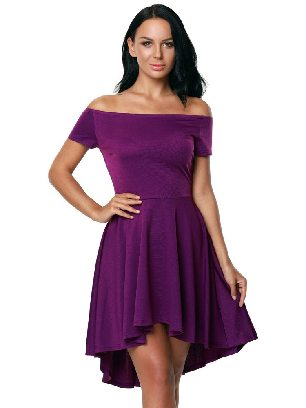 Purple Sexy Evening Dress Blue All The Rage Skater
